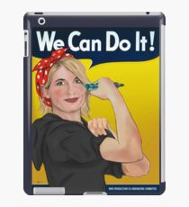 Jodie the Whittaker - Doctor Who - 13th Doctor iPad Case/Skin