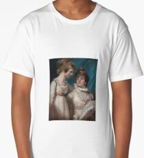 John Raphael Smith () Double portrait of Elizabeth and Mary Hannah Smith, the artist's daughters Long T-Shirt