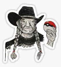 Shotgun Willie the Pokemon Master Sticker