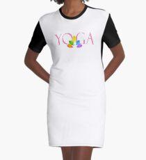 Yoga Graphic T-Shirt Dress