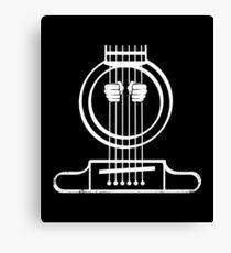 Electric Bass Guitar Shirt Canvas Print
