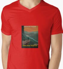 Vintage Travel Poster – Great Smoky Mountains National Park T-Shirt