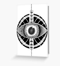 Third Eye Satellite Greeting Card