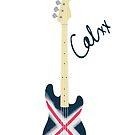 Calum's Bass Phone Case by diannamv4