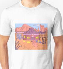Pizza in the Desert Unisex T-Shirt