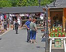 Bran Castle Market by Graeme  Hyde