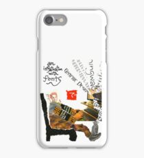 Stamp People Series (The Font Lover) iPhone Case/Skin