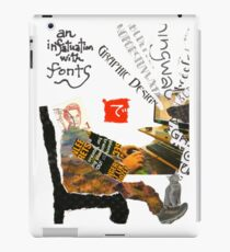 Stamp People Series (The Font Lover) iPad Case/Skin