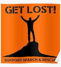 Support Search & Rescue Poster