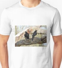 White-winged Chough - Little Desert NP (153) T-Shirt