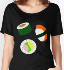 Sushi Trio Women's Relaxed Fit T-Shirt