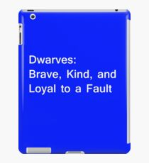 Definition of Dwarves - White iPad Case/Skin