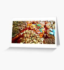 Donut Feast Greeting Card