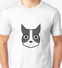 Boston Terrier funny face T-Shirt