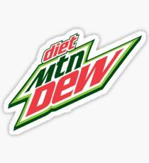 Diet Mountain Dew Sticker