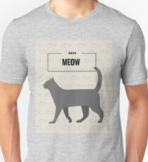 Tuna Cat Design Unisex T-Shirt