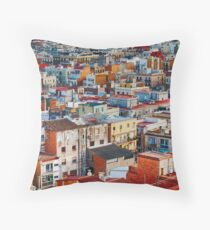 Colors are Life Throw Pillow