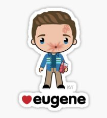 Love Eugene - Preacher Sticker