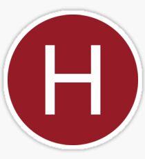 Hall H Sticker