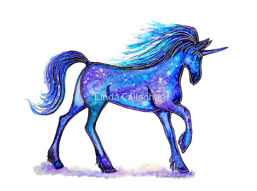 Blue Unicorn  by Linda Callaghan