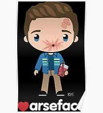 Love Arseface - Preacher Poster