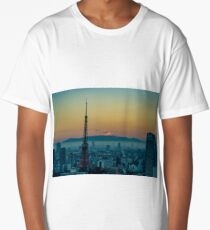 Sunrise over Mount Fuji Long T-Shirt