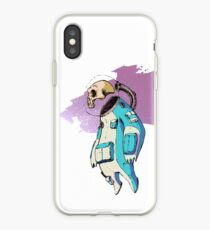 Spacetronaut IN-B1U3 iPhone Case