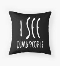 6th sense Throw Pillow