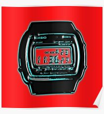 80's Series Casio Watch Poster