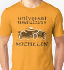 Vintage Advertisement for Michelin - weathered look T-Shirt