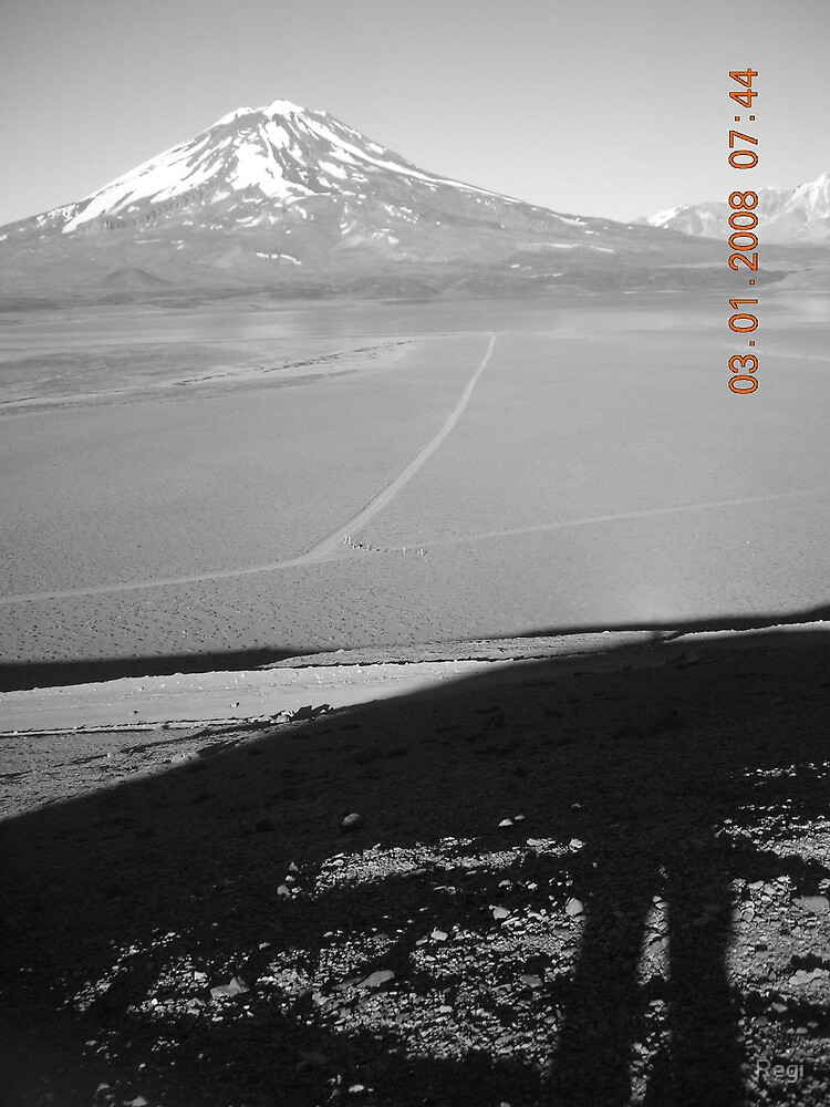 the volcano and me by Regi