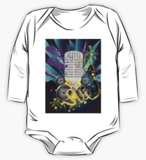 Vintage Music Microphone Kids Clothes