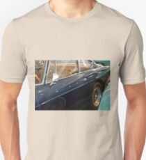 Beautiful vintage blue shining car Unisex T-Shirt