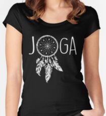 Joga Boho Women's Fitted Scoop T-Shirt