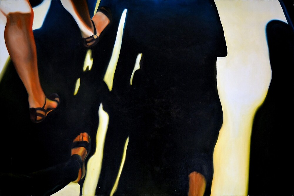 The first steps, 2013, 120-80cm, oil on canvas by oanaunciuleanu