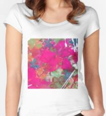 WINTER PINKS by Nibs Gallery Women's Fitted Scoop T-Shirt