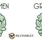 Green Men mug by KJCharles