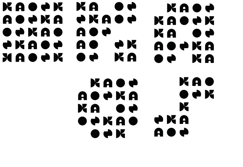 KAOS letter icons by JasonBrown