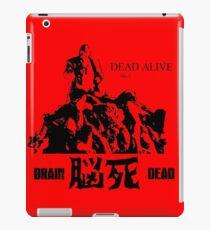 「脳死」DEAD ALIVE AKA BRAINDEAD Zombie Horror Movie T Shirt iPad Case/Skin