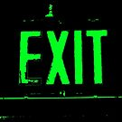 Exit in Green by Nathan Little