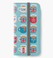 Ein sehr britisches Gebräu iPhone Flip-Case/Hülle/Klebefolie