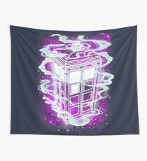 It's bigger on the inside! Wall Tapestry