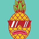 Fresh Pineapple by strangethingsA
