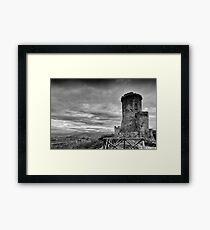 Tower of Velia, Italy Framed Print