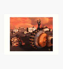 The Terraforma Mining Company Art Print