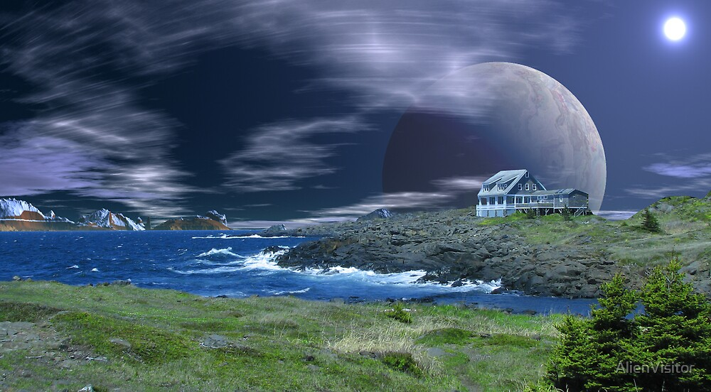 Home Sweet Home - Gibbon's Moon by AlienVisitor