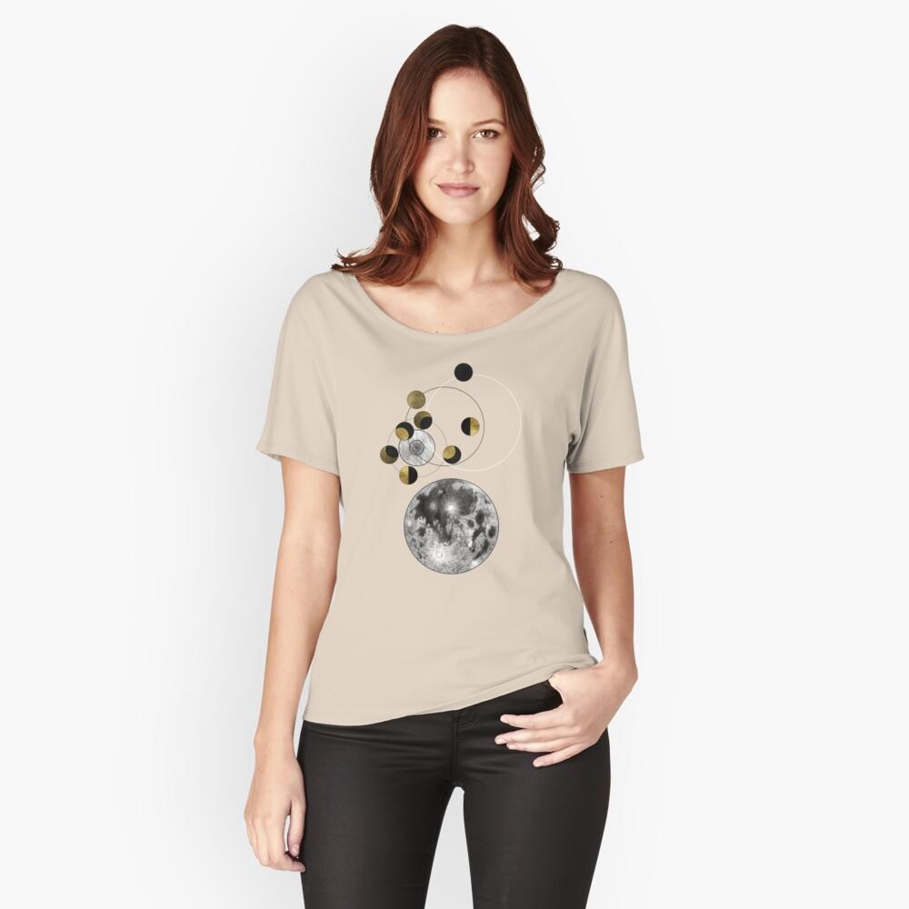 Phasen des Mondes Loose Fit T-Shirt
