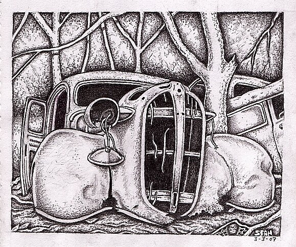 Ghosts In The Treeline ( 2 ) by Sean Phelan