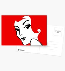 Miss Redhead [iPad / Phone cases / Prints / Clothing / Decor] Postcards