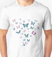 Beautiful Fly Butterflies T-Shirt